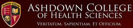Ashdown College of Health Sciences Logo